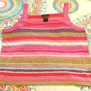 Sigrid Olsen Hand knit top 🧶